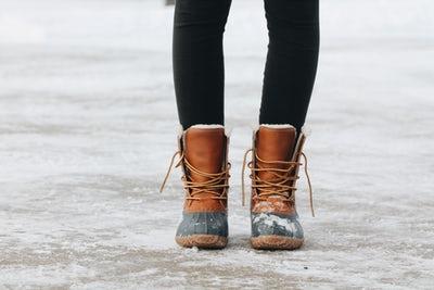 shovel boots